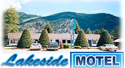 The Lakeside Motel is located on the water in scenic Trout Creek, Montana with views of the Cabinet Mountains overlooking the Clark Fork River. Our central location provides access to a number of popular attractions, including Glacier National Park, Ross Creek Giant Cedars, Cabinet Mountain Wilderness Area and miles of blue ribbon trout streams, rivers and hiking trails. We are also within easy driving distance to a number of beautiful golf courses, including 9 hole courses in Libby, Thompson Falls and Plains.  Large rooms with vaulted ceilings, and cabins with kitchens are available. Our jacuzzi suites feature fully furnished kitchens, dining areas, lounge areas, and baths with large two person jacuzzis. We have a new luxurious 2-story jacuzzi suite with balcony, full-size kitchen, log furniture, gas log fireplace, and extras. The stairway leads up to an open loft bedroom finished in blue pine, including two queen sized beds. The area boasts excellent hunting, fishing, 35 miles of unrestricted waterway, and public boat launch. Canoe rental and laundry facilities are available. Digital satellite TV and free HBO at the motel.